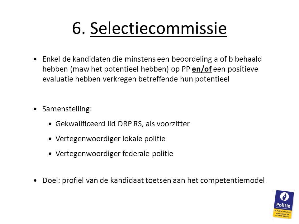 6. Selectiecommissie