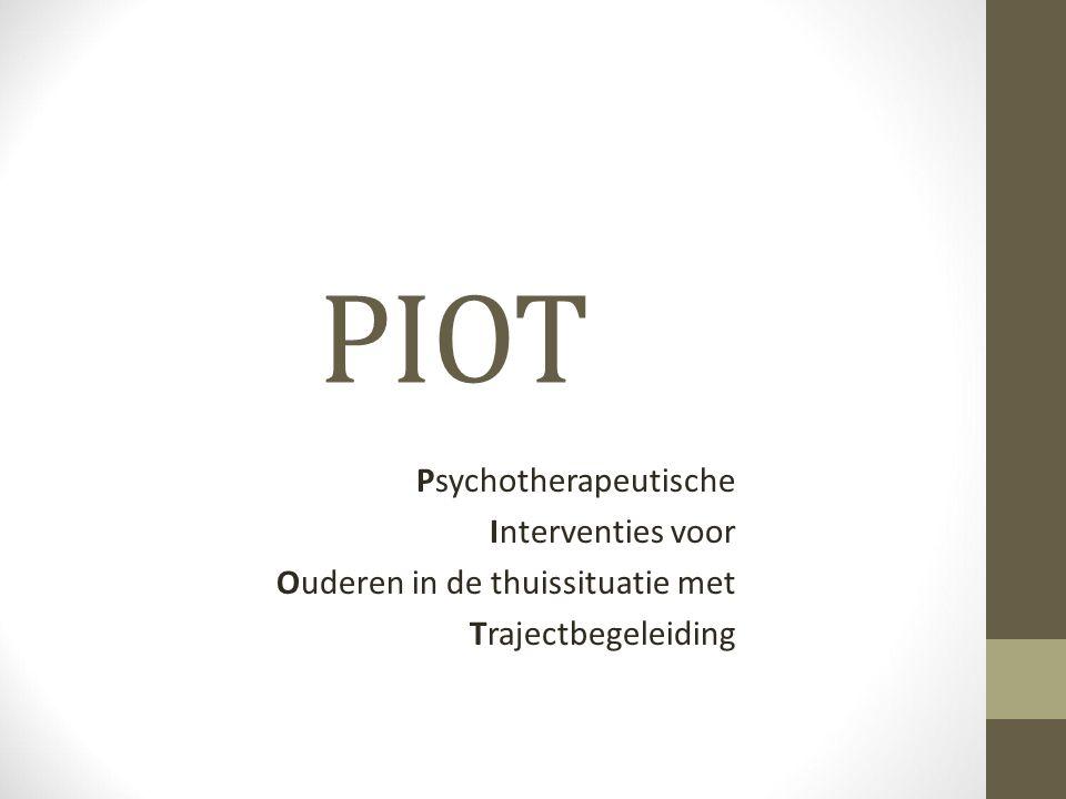 PIOT Psychotherapeutische Interventies voor