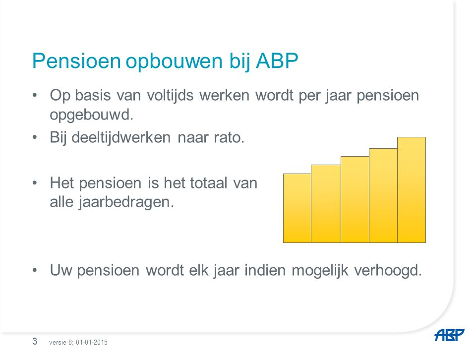 Pensioen opbouwen bij ABP