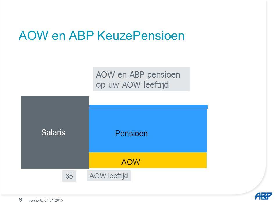 AOW en ABP KeuzePensioen