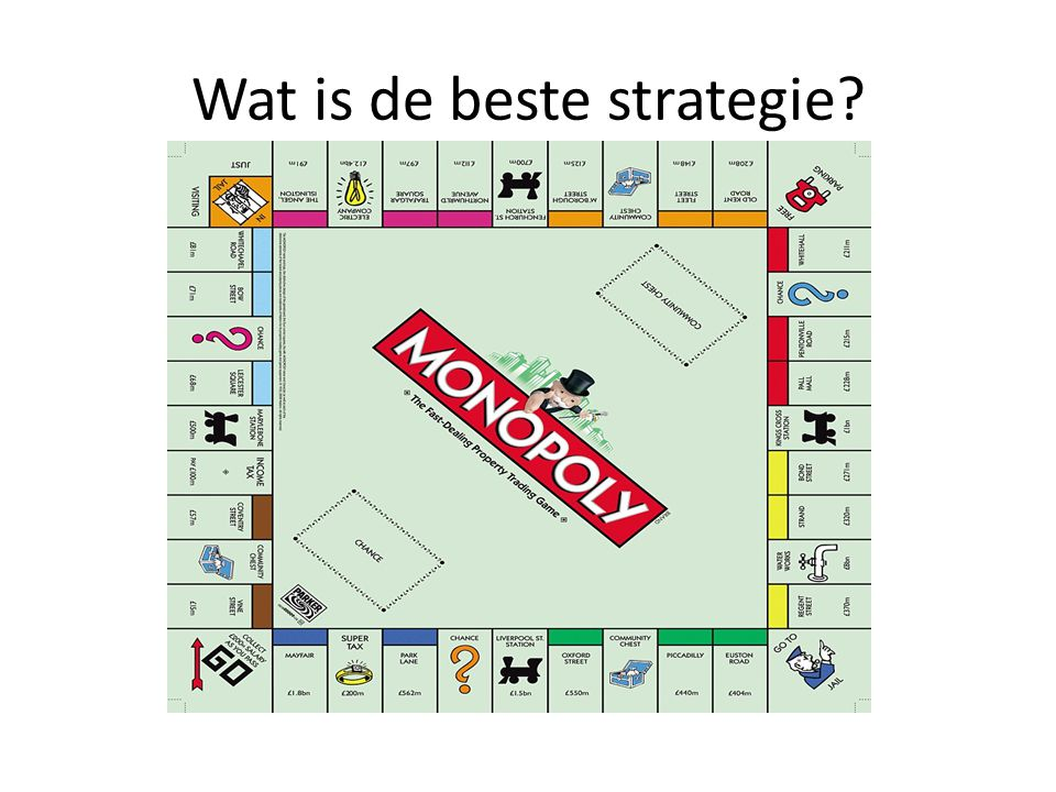 Wat is de beste strategie