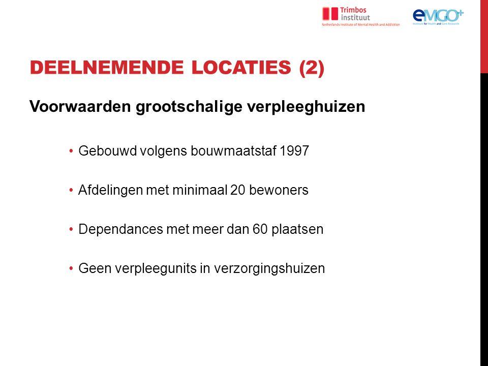 Deelnemende locaties (2)