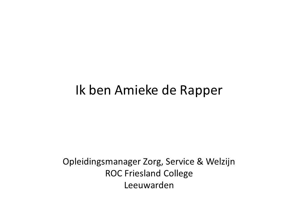 Opleidingsmanager Zorg, Service & Welzijn