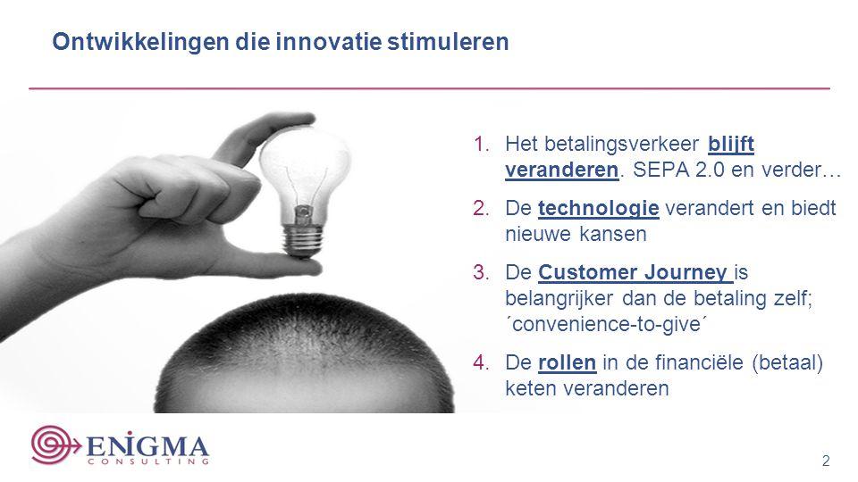 Ontwikkelingen die innovatie stimuleren