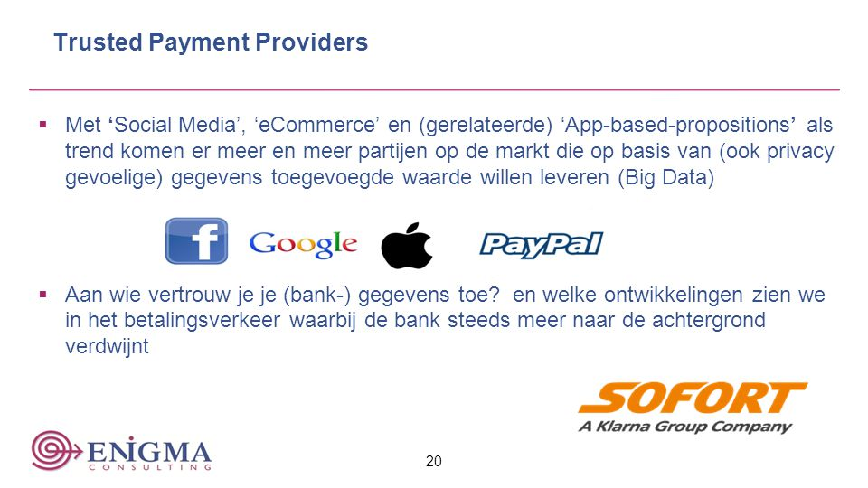 Trusted Payment Providers