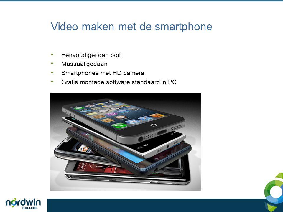 Video maken met de smartphone