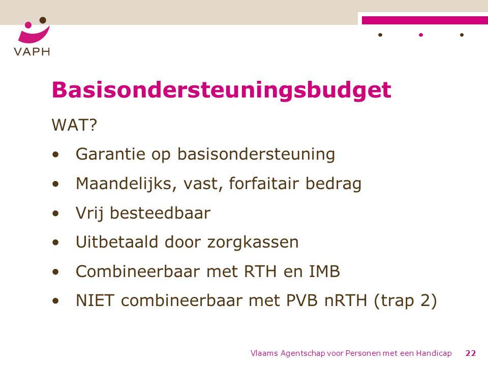 Basisondersteuningsbudget