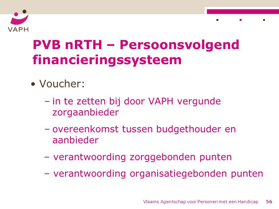 PVB nRTH – Persoonsvolgend financieringssysteem