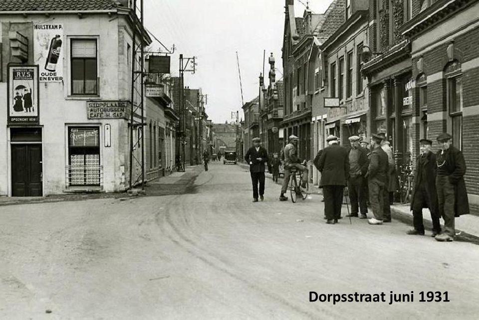 Dorpsstraat juni 1931