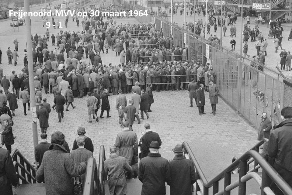Feijenoord-MVV op 30 maart 1964