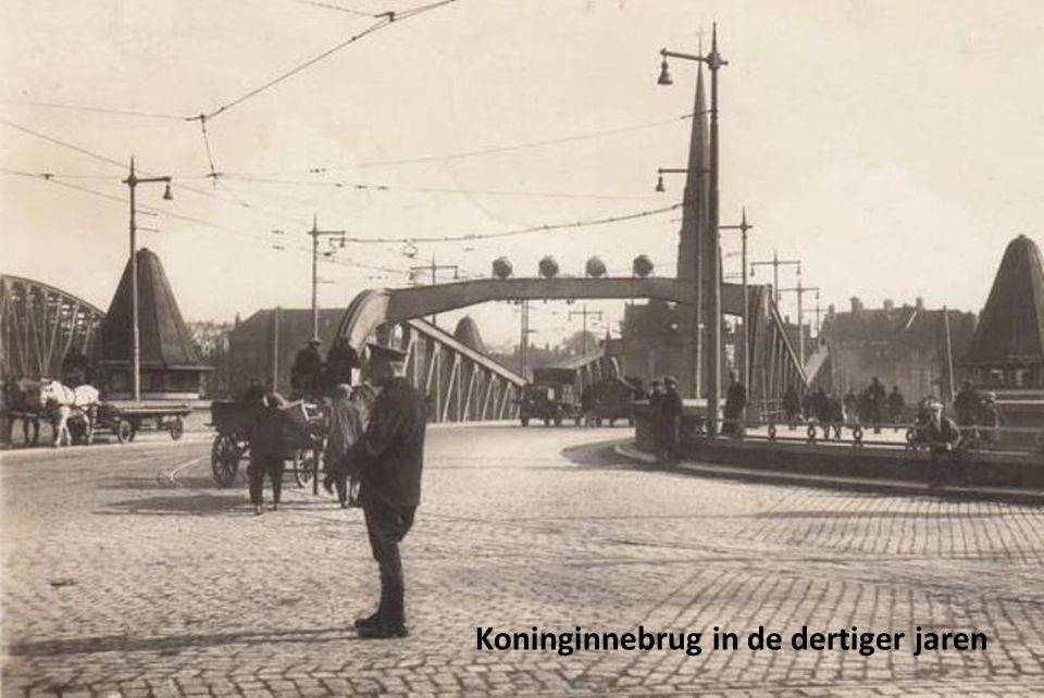 Koninginnebrug in de dertiger jaren