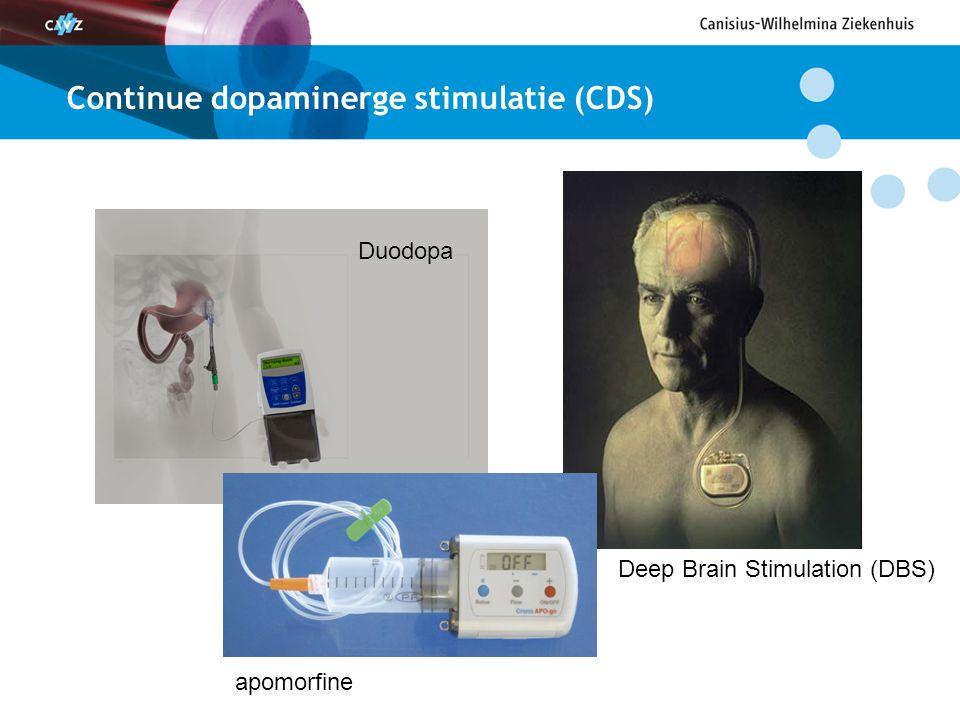 Continue dopaminerge stimulatie (CDS)