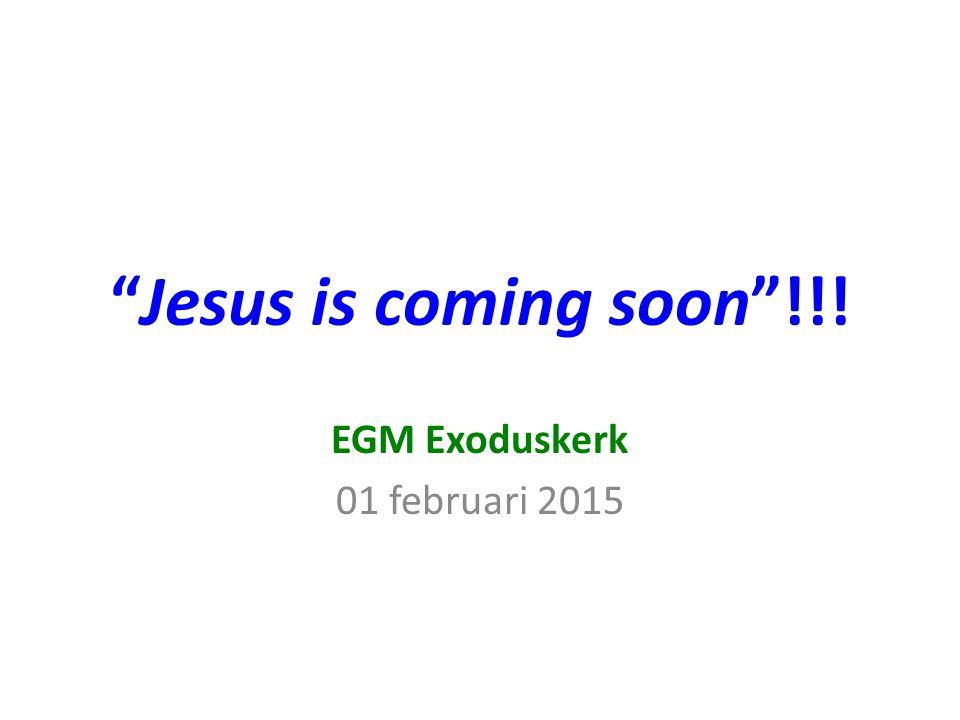 EGM Exoduskerk 01 februari 2015