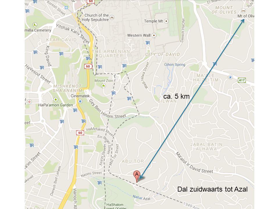 ca. 5 km Dal zuidwaarts tot Azal
