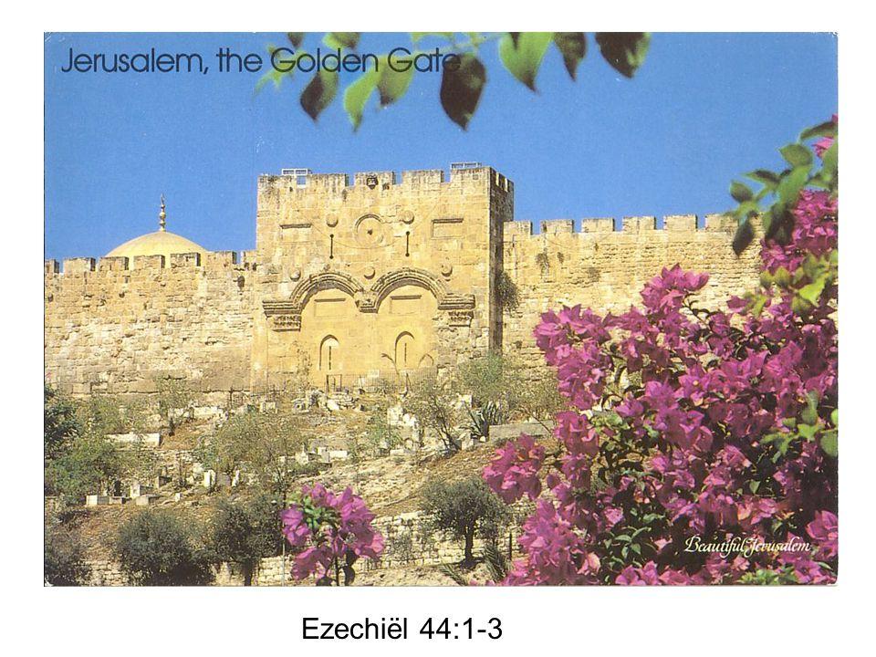 Ezechiël 44:1-3