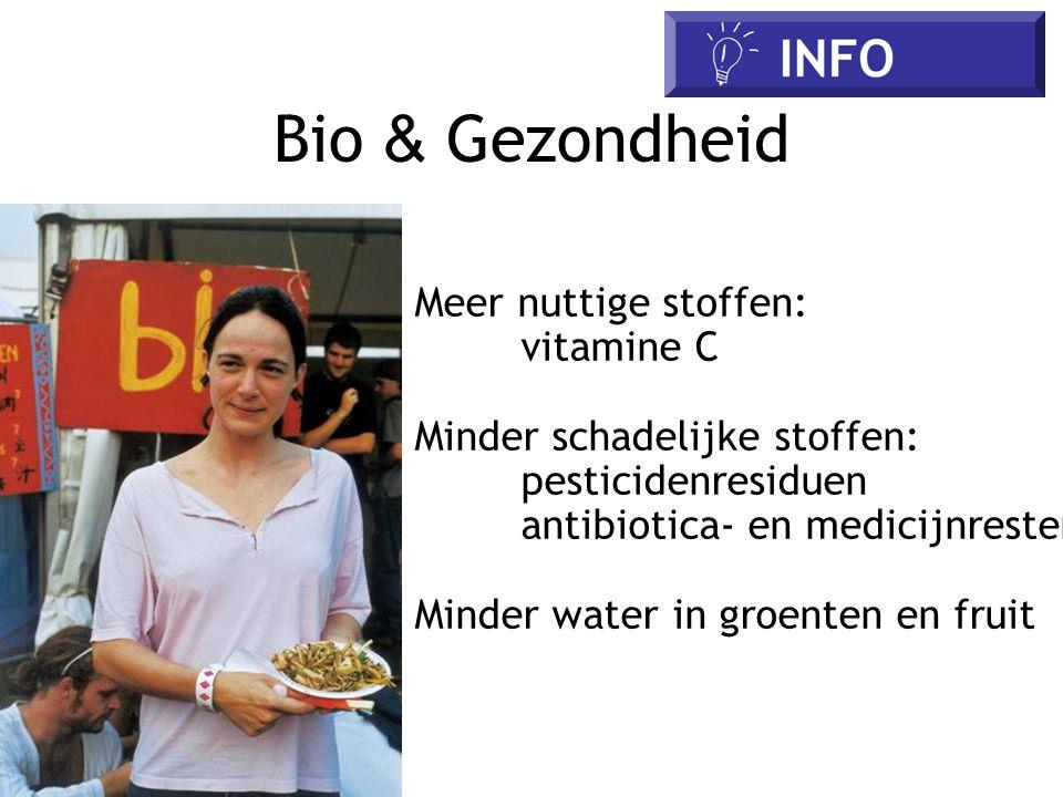 Bio & Gezondheid Meer nuttige stoffen: vitamine C