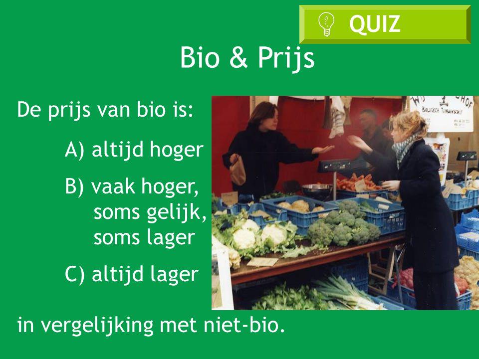 Bio & Prijs