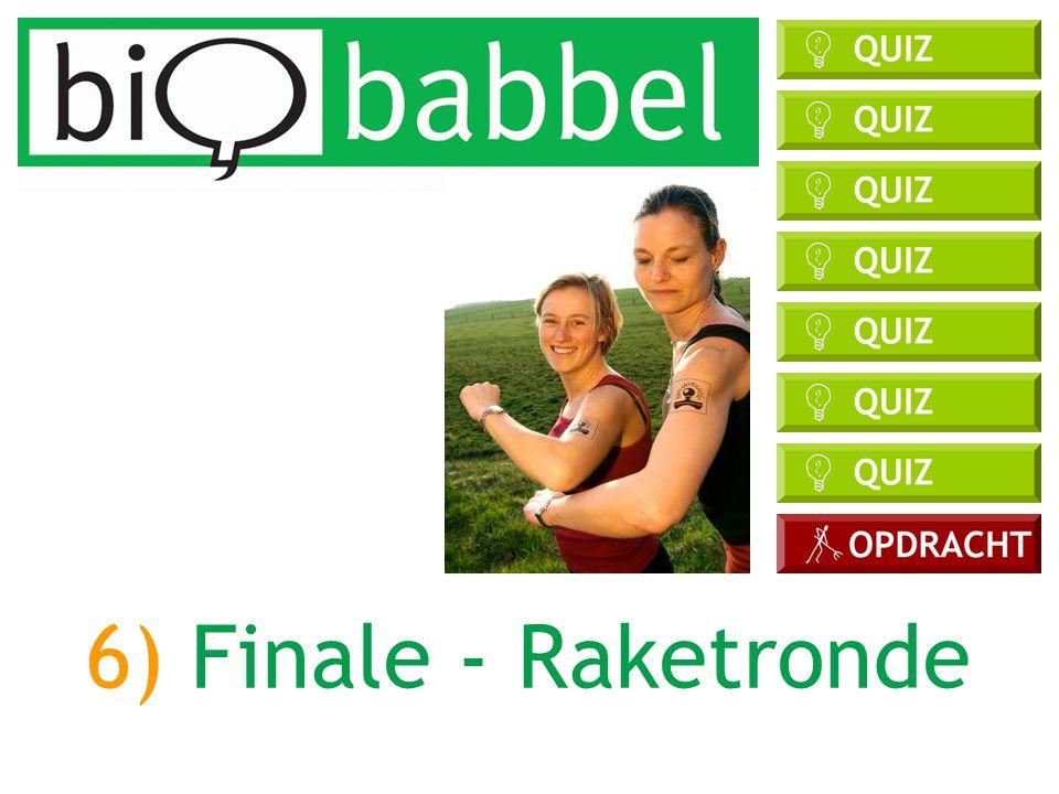 6) Finale - Raketronde DOELEN: