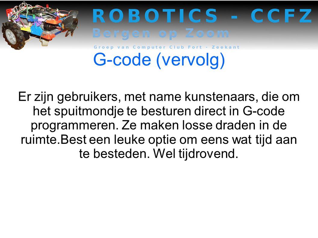 G-code (vervolg)