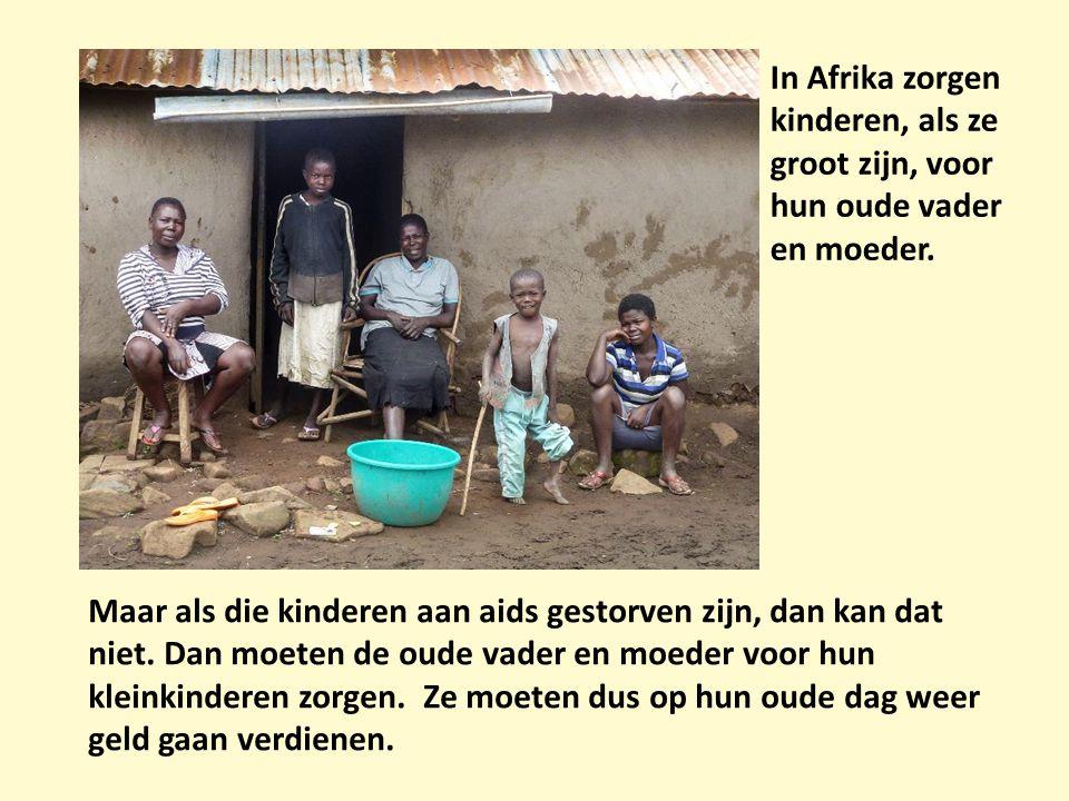 In Afrika zorgen kinderen, als ze