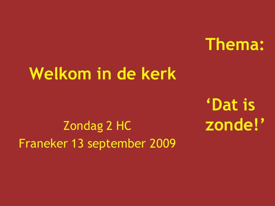 Zondag 2 HC Franeker 13 september 2009