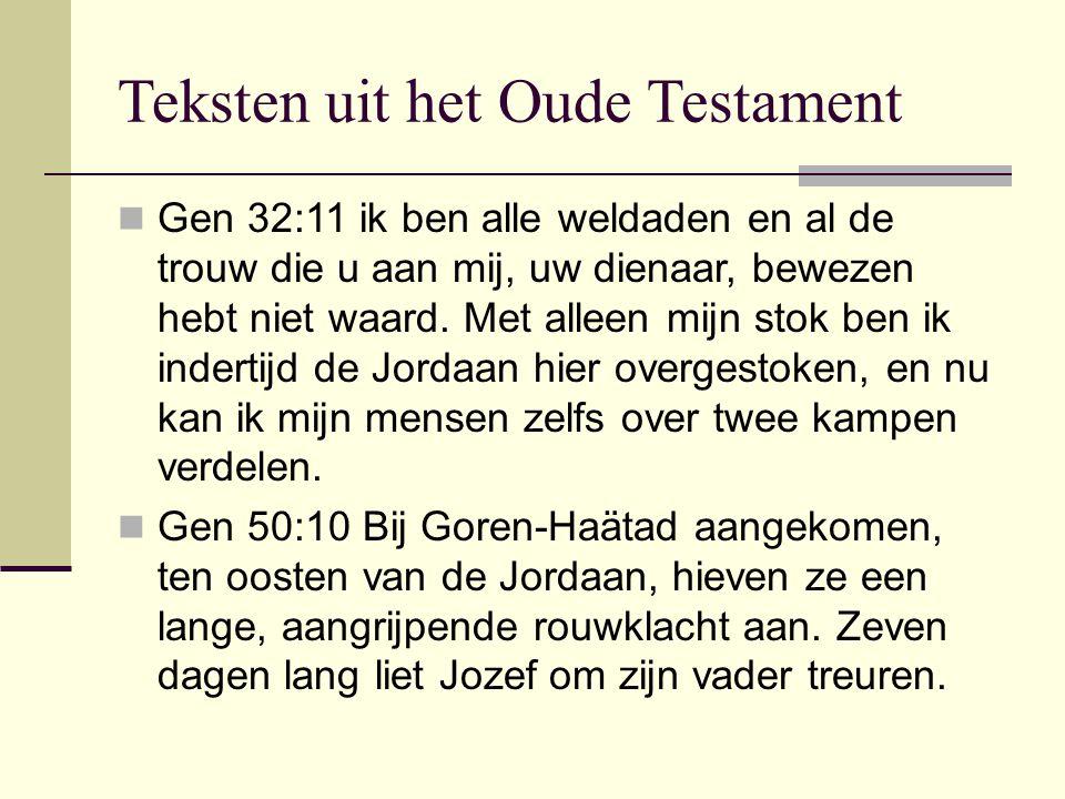 Teksten uit het Oude Testament