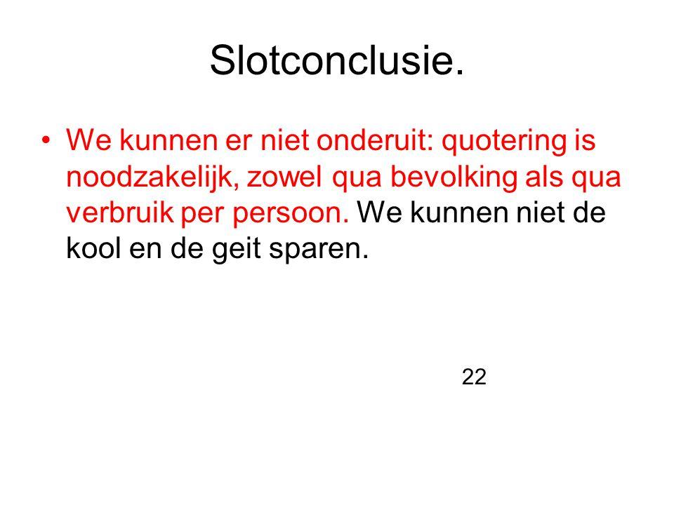 Slotconclusie.