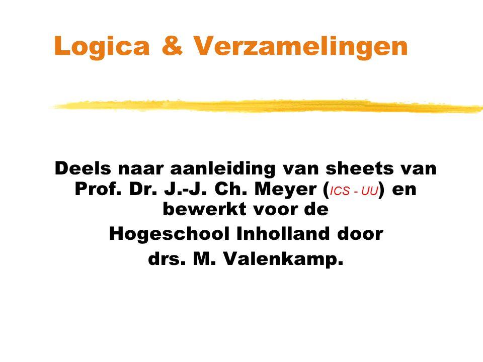 Logica & Verzamelingen