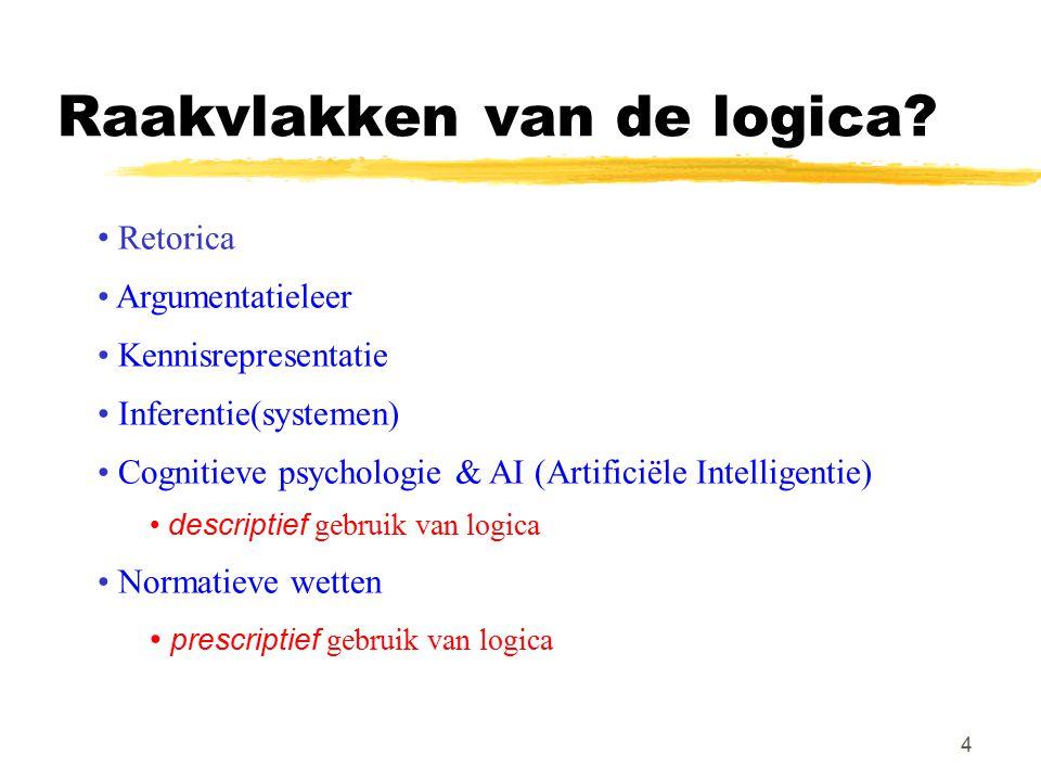 Raakvlakken van de logica