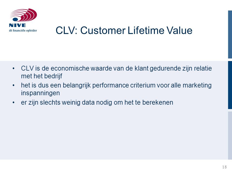 CLV: Customer Lifetime Value