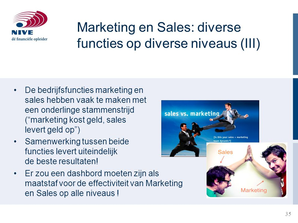 Marketing en Sales: diverse functies op diverse niveaus (III)