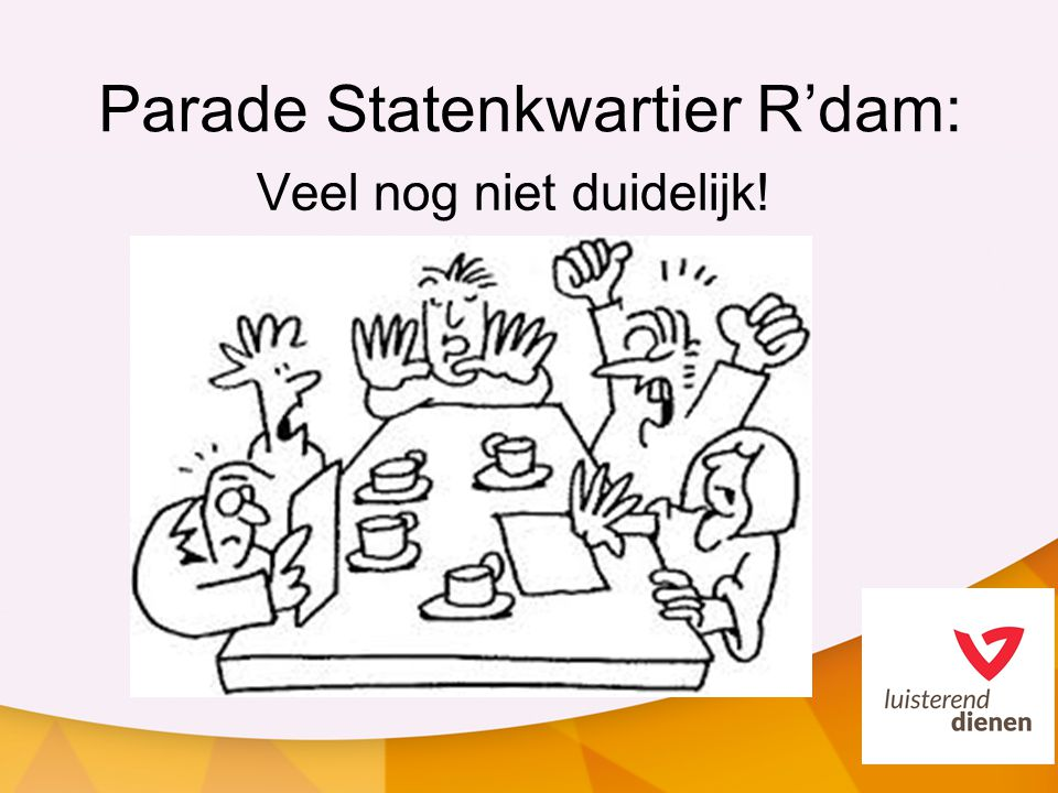 Parade Statenkwartier R'dam: