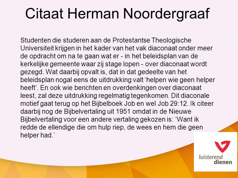 Citaat Herman Noordergraaf
