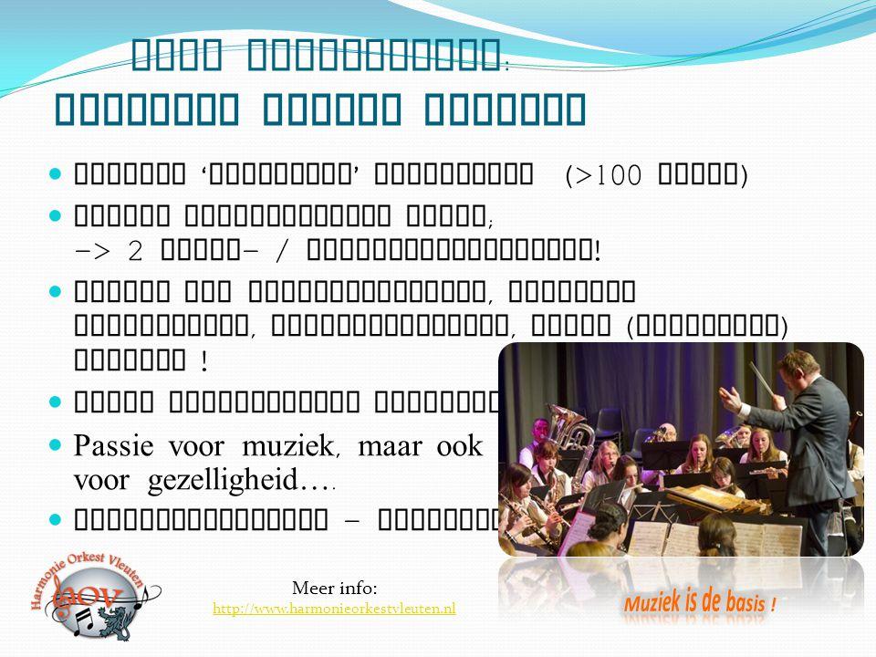 Even voorstellen: Harmonie Orkest Vleuten
