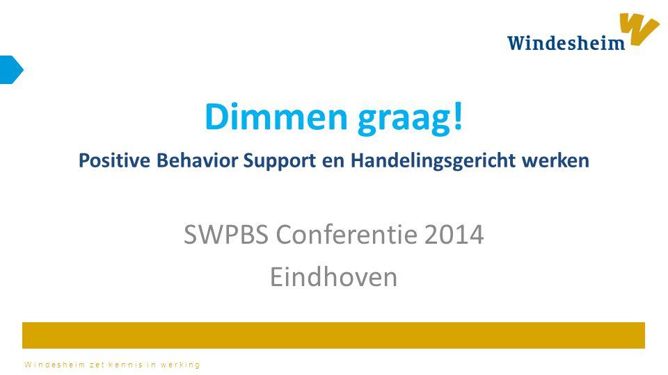 SWPBS Conferentie 2014 Eindhoven