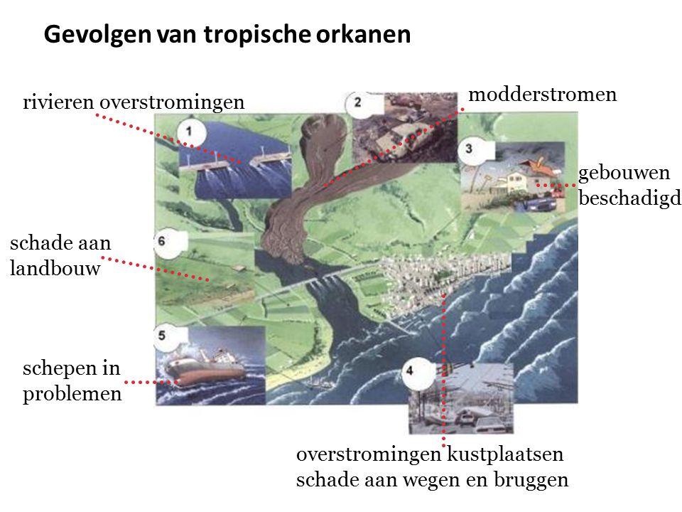 Gevolgen van tropische orkanen