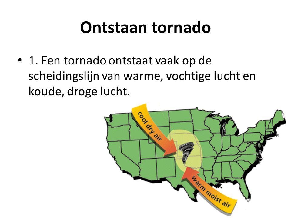 Ontstaan tornado 1.