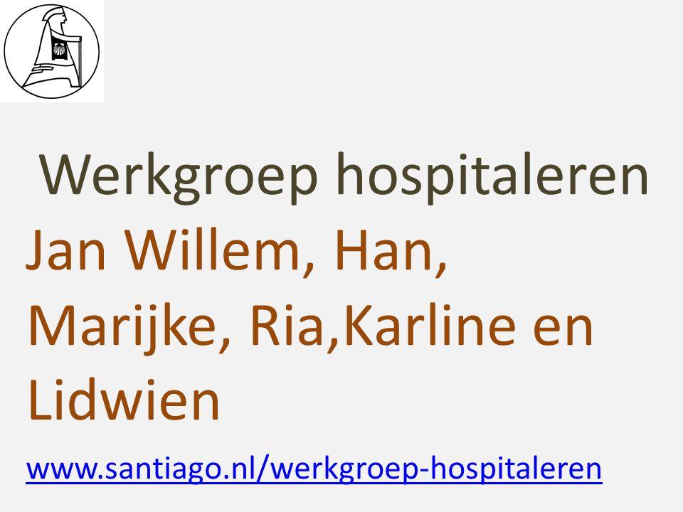 Werkgroep hospitaleren