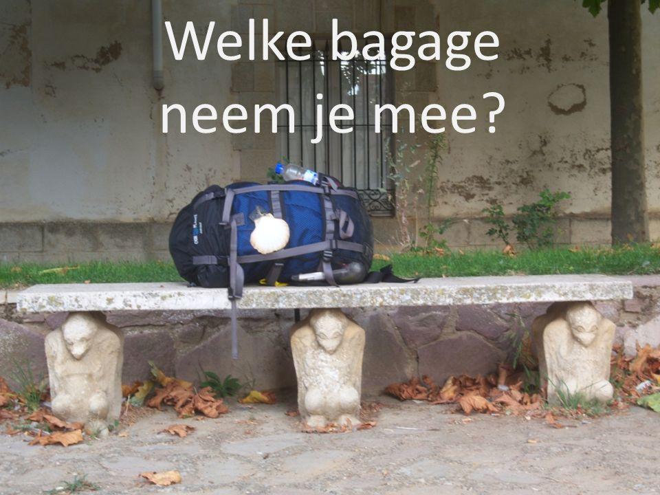 Welke bagage neem je mee