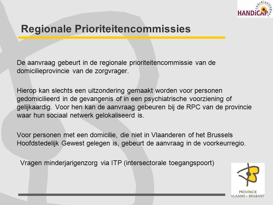 Regionale Prioriteitencommissies