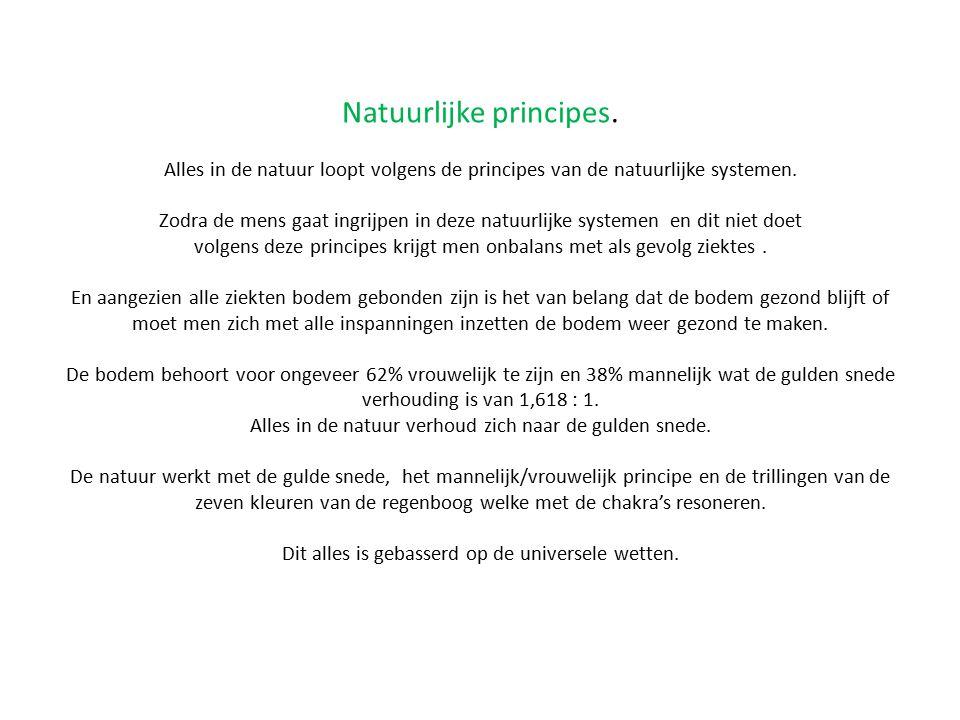 Natuurlijke principes