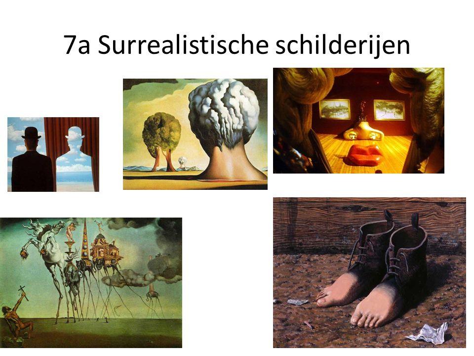 7a Surrealistische schilderijen