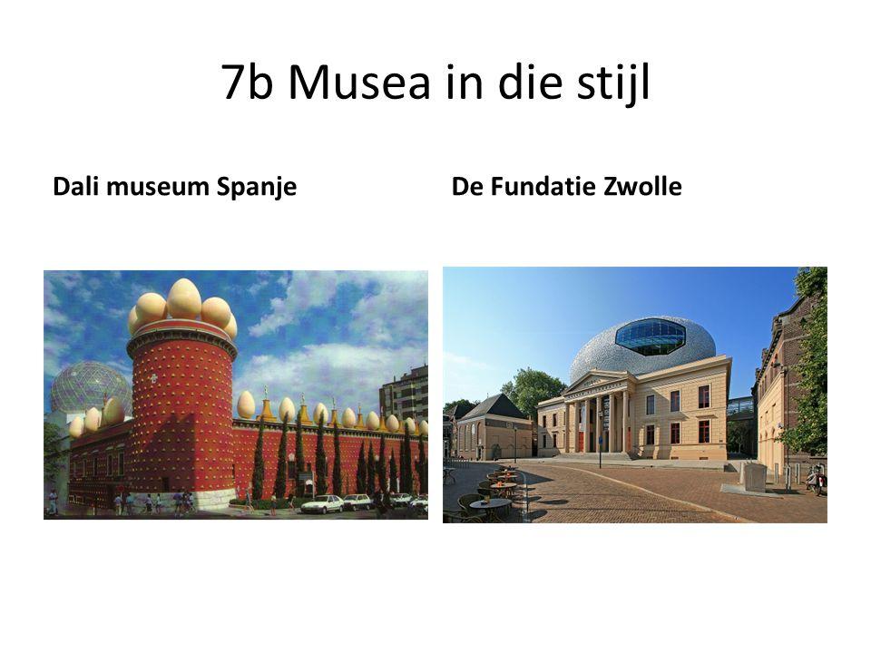 7b Musea in die stijl Dali museum Spanje De Fundatie Zwolle
