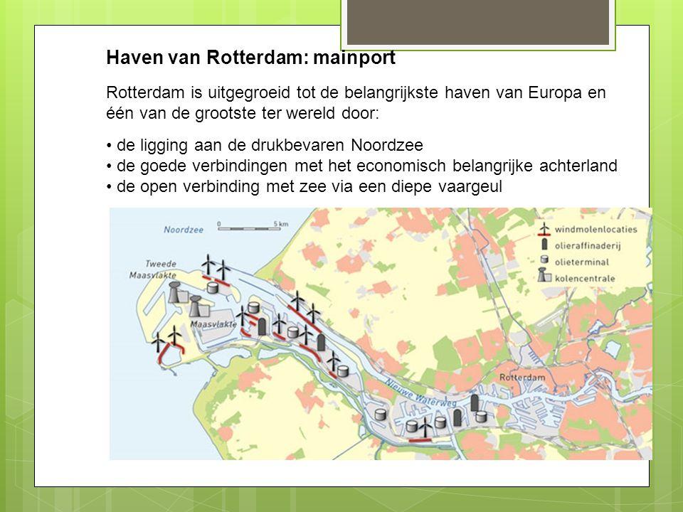 Haven van Rotterdam: mainport
