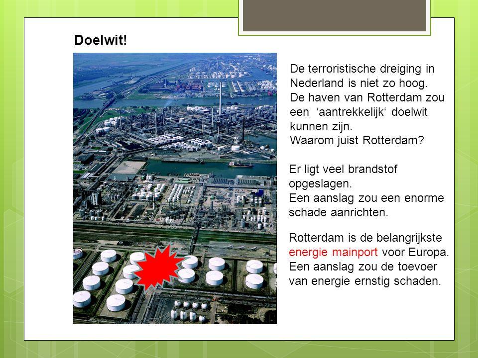 Doelwit! De terroristische dreiging in Nederland is niet zo hoog.