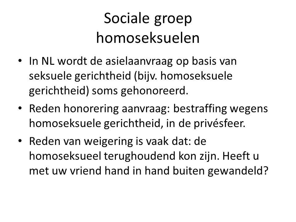Sociale groep homoseksuelen