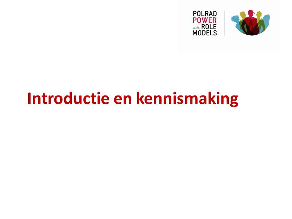 Introductie en kennismaking