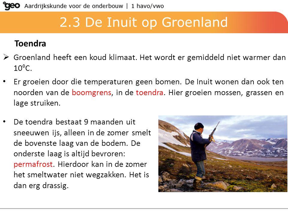 2.3 De Inuit op Groenland Toendra