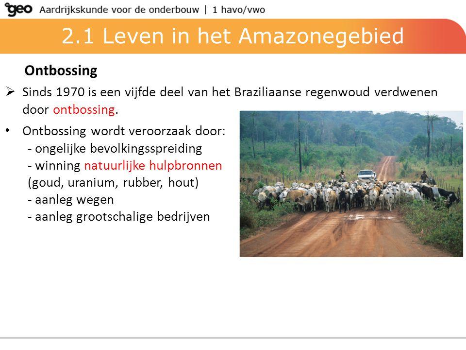 2.1 Leven in het Amazonegebied