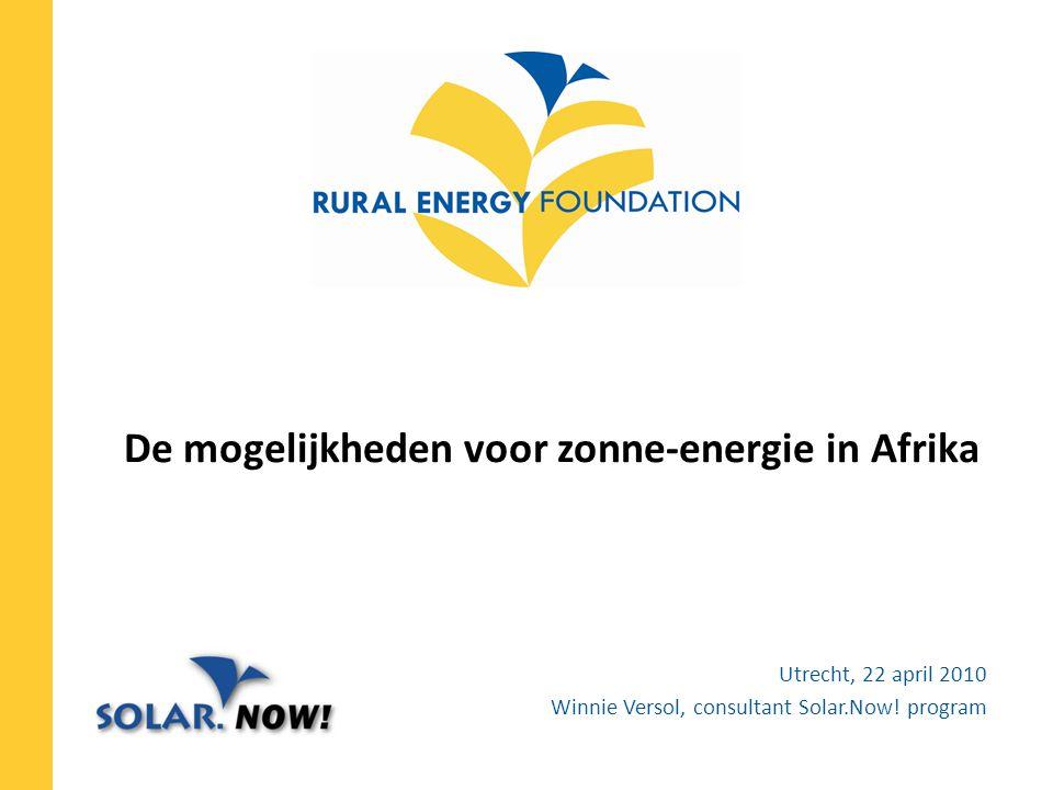 De mogelijkheden voor zonne-energie in Afrika
